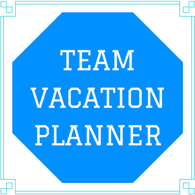 team vacation planner template